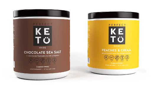 Ketogenic Supplement Reviews - Perfect Keto containers to represent the products highlighted in this article.