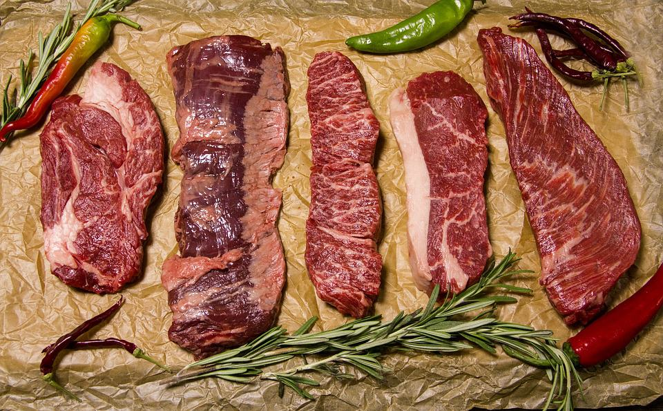 Paleo Diet - Lot of meat